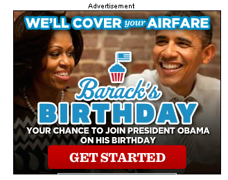 Can't even enjoy his birthday in private. Sucks to be president =(.