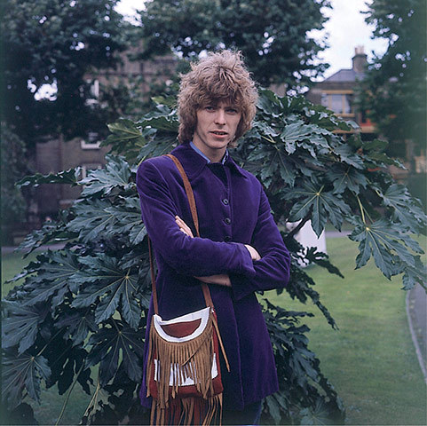 David Bowie - casual candid outdoors