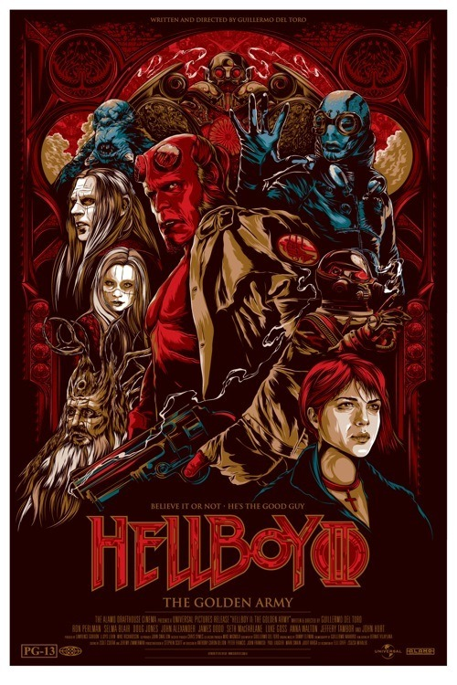 If a third Hellboy doesn't get made I will be seriously pissed.