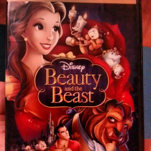 Day 1 of #Disneychallenge favorite movie #beautyandthebeast #disney #beast #beauty #Belle  (Taken with Instagram)