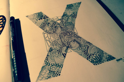 x. something a little detailed i did today. for much more of my art, follow my blog!