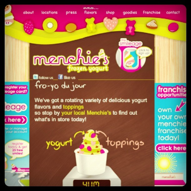 Tommarrow or whaaat ? Lmao @Simplybiancaa #Menchies #FrozenYogurt #Downeylanding  (Taken with Instagram)