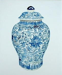 Don't you just love blue and white chinese porcelain?