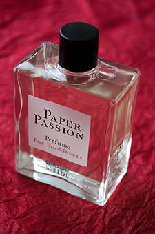 "The printed word isn't dead.. You can still smell it. Paper Passion fragrance by Geza Schoen, Gerhard Steidl, and Wallpaper* magazine. ""The smell of a freshly printed book is the best smell in the world."" Karl Lagerfeld"