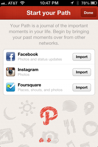 thenextweb:  (via Here's How To Pull In Facebook, Instagram, and Foursquare Info to Path)