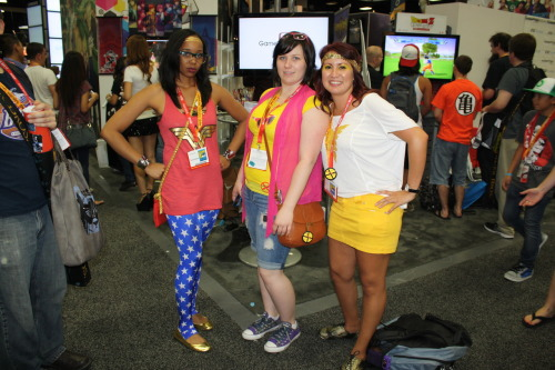 Almost forgot! We found a Hipster Wonder Woman! DC meets Marvel!