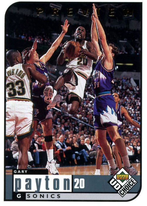 Gary Payton - Nike Zoom Flight 98 (Glove)