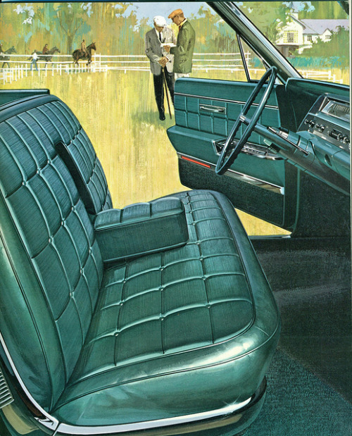 1963 Oldsmobile Ninety-Eight 4 Door Hardtop Interior Front Seat   by coconv on Flickr.1963 Oldsmobile Ninety-Eight 4 Door Hardtop Interior Front