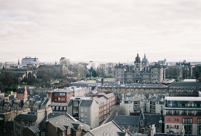 | ♕ |  Old Town Edinburgh - Scotland  | by © 夏先生