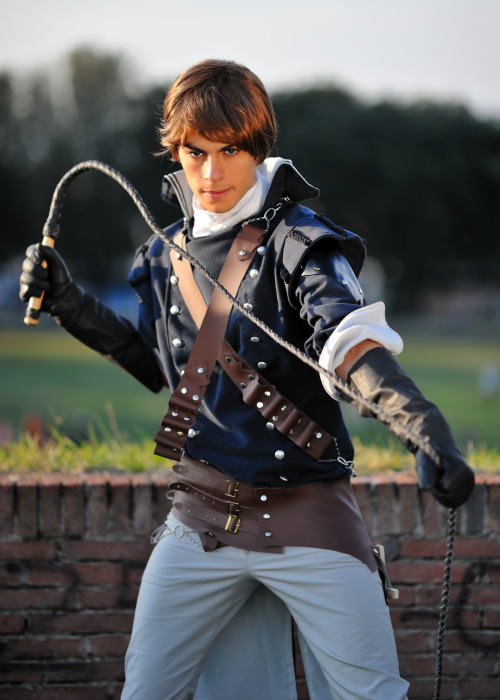 Richter Belmont by *Sandman-AC This Richter Belmont cosplayer looks fucking awesome!!!