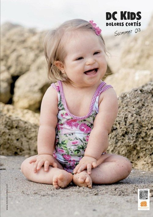 "Baby with Down syndrome lands a swimsuit campaign  We have a feel-good story for you: Valentina Guerrero, a 10-month-old Miami girl with Down syndrome, is now the face of Spanish swimwear designer Dolores Cortés' 2013 children's swimwear collection, DC Kids. Although she is not the first child with Down syndrome to model, Valentina is considered the first to land a campaign with a well-known designer. Cortés showed her collection during Mercedes-Benz Fashion Week Swim 2013 and even brought Valentina out to walk the runway. The designer told AdWeek: ""People with Down syndrome are just as beautiful and deserve the same opportunities. I'm thrilled to have Valentina modeling for us."" Valentina's mother, TV host and producer Cecelia Elizalde (also known as Ceceliz) told the Down Syndrome Association of Miami how she felt when the brand told her that they wanted Valentina to be their spokesmodel: ""I was excited, mainly because the fact that they are placing Valentina on a catalog sends a very clear message of inclusion; all children deserve the same opportunities, regardless of their physical, economic, social, racial or medical condition."" Cortés has also pledged to donate 10 percent of the profits from the DC Kids line to the Down Syndrome Association of Miami. Check out the collection here."