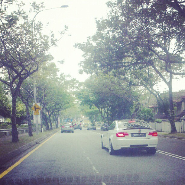 Starring, #bmw #m3 (Taken with Instagram at Taman Sri Hartamas)