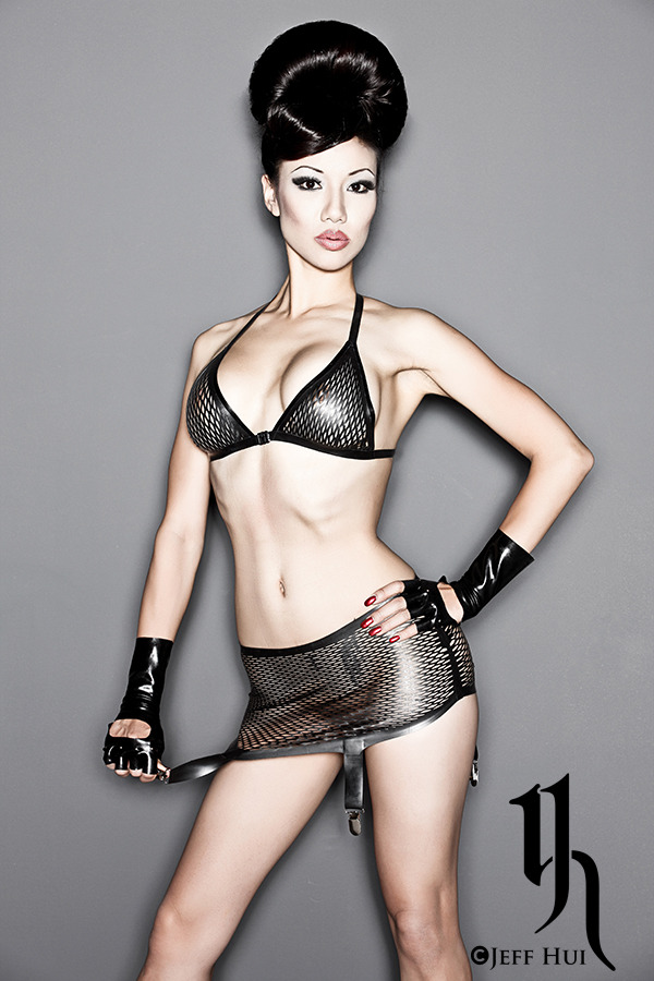 Model/Styling/Edit: Jade Vixen Photo: Jeff Hui Latex: Ego Assassin I adore this fishnet latex set from Ego Assassin!