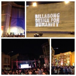 Tonight was pretty sweet. Went to Billabong's Design For Humanity event on Paramount's back NYC lot. Finally got to see Walk The Moon. (Taken with Instagram at Paramount Studios)