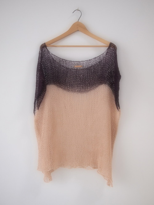 (via |H.L| — Color Block Tunic | nude)
