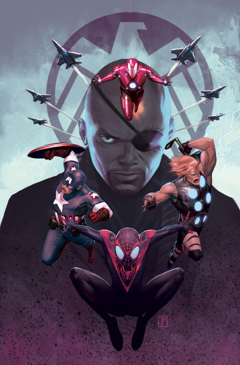 Ultimate Spiderman 16 Cover by *ZurdoM