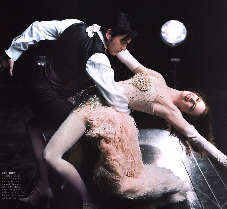 Nicole Kidman & Ewan McGregor - Vogue by Annie Leibovitz, December 2000