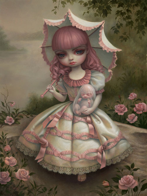 suicideblonde:  Virgin and Child (2010) by Mark Ryden