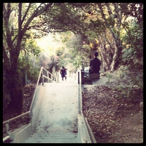 I hate #stairs #thousandsteps #laguna (Taken with Instagram)
