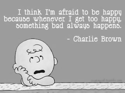 saywaaahht:  i'm with ya' charlie brown.