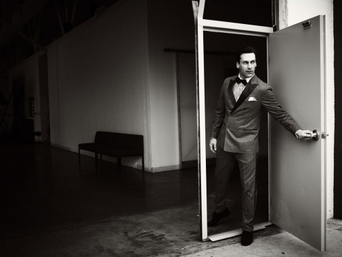 gasstation:  Jon Hamm photographed by Brian Bowen Smith