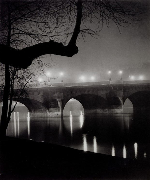 by George Brassaï, from his book 'Paris by Night', 1933