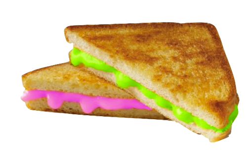 wiccaphase:  reality-pill:  Transparent slime club sandwhich  mmmmmmmmmmm