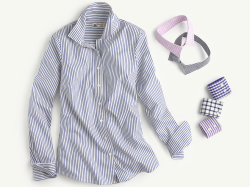 The Thomas Mason Shirt, J.Crew.