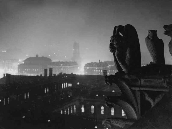 photo of Notre Dame Gargoyle by George Brassaï, c.1930s
