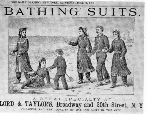 andforcenturies:  questionableadvice:  ~ Lord & Taylor advertisement, June 14, 1879 via Vintage Ads LiveJournal  I could have rocked that look