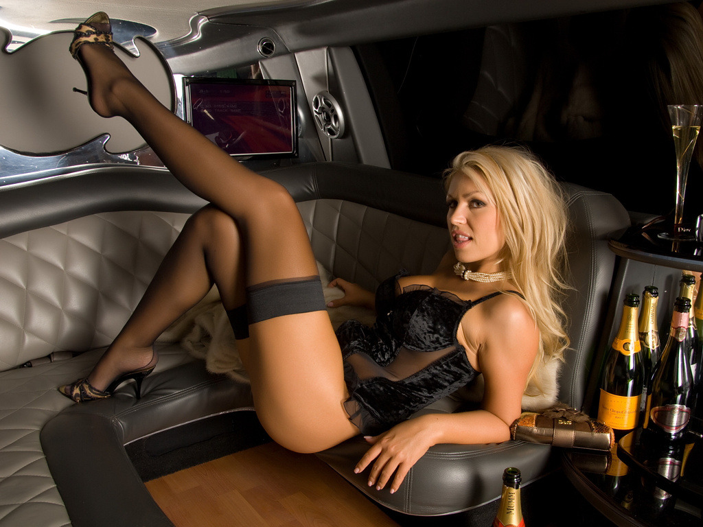 "Anette Dawn gives the expression ""hot stockings"" a whole new meaning!"