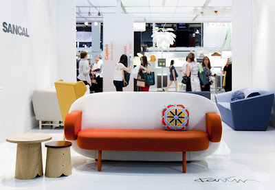 The Float Sofa by Karim Rashid for Sancal