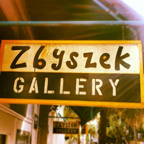 I guess I own a gallery here in Key West (Taken with Instagram)