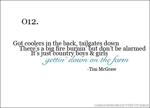 Tim Mcgraw :)