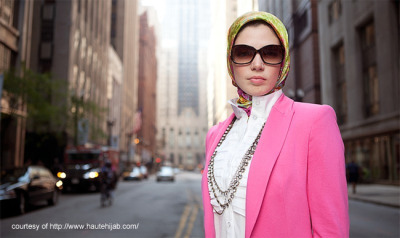 Haute Hijab. Quite genius if you ask me. And Pop Islam? Might as well.