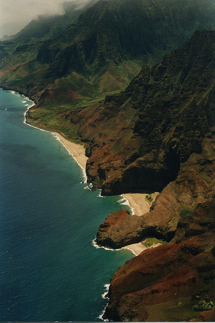 veritae:  The Na Pali Coast by Ted Jones on Flickr.