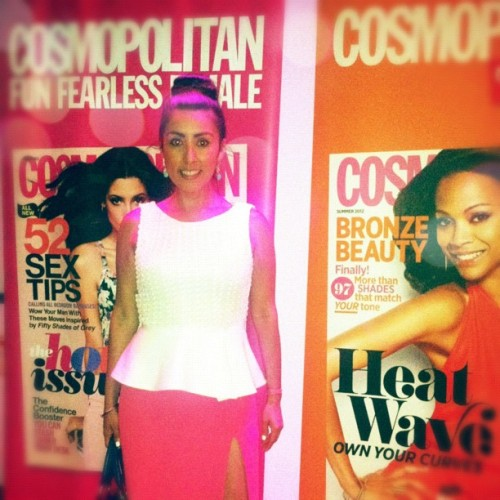 At the @Cosmopolitan and @Cosmoforlatinas #summersplash #NYC #party #fashion (Taken with Instagram)