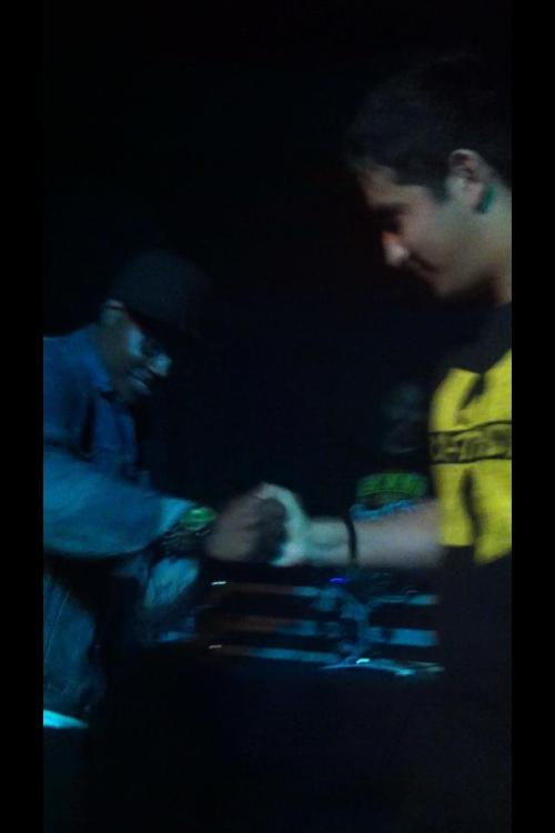Best Moment of my life:) On stage with Elzhi:D and paying tribute to Wu Tang