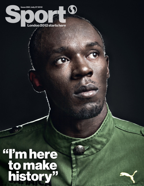 Click here for a closer look at our Usain Bolt cover.