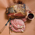 Well, omg. Does that look/ sound good or what?   (via Smoked Prime Rib With Peach-Chipotle Sauce Recipe - Saveur.com)