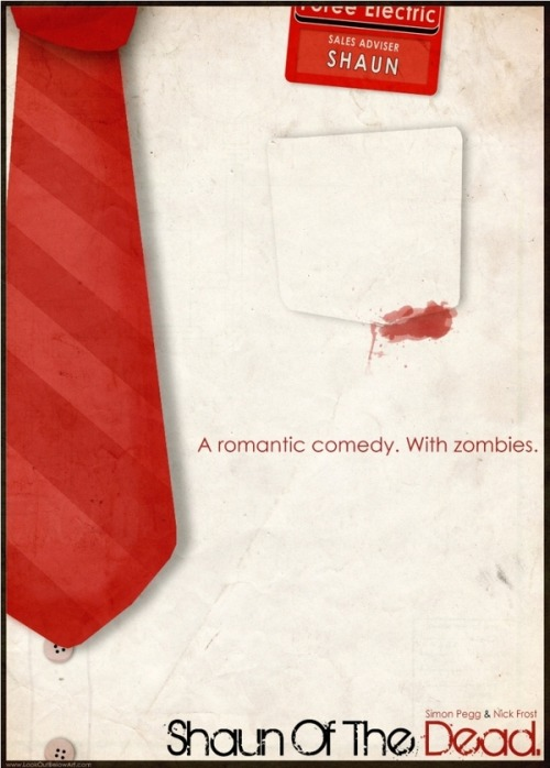 Shaun of the Dead - by Graeme Voigt Website || Behance