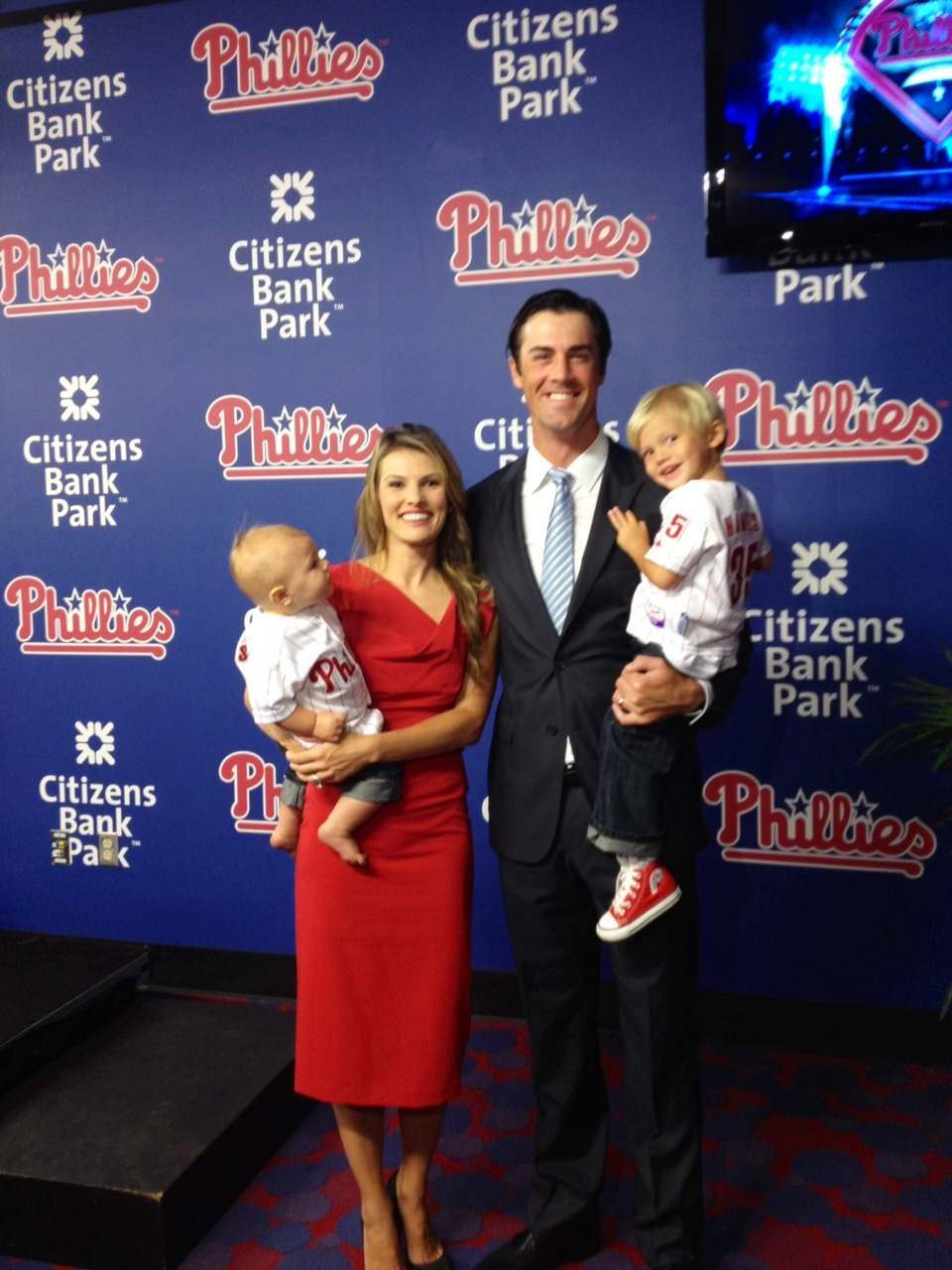 Whew…Phillies had me worried for a few months there. CONGRATS COLE HAMELS!