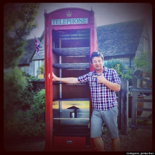 We knew we liked Jamie Oliver for a reason.