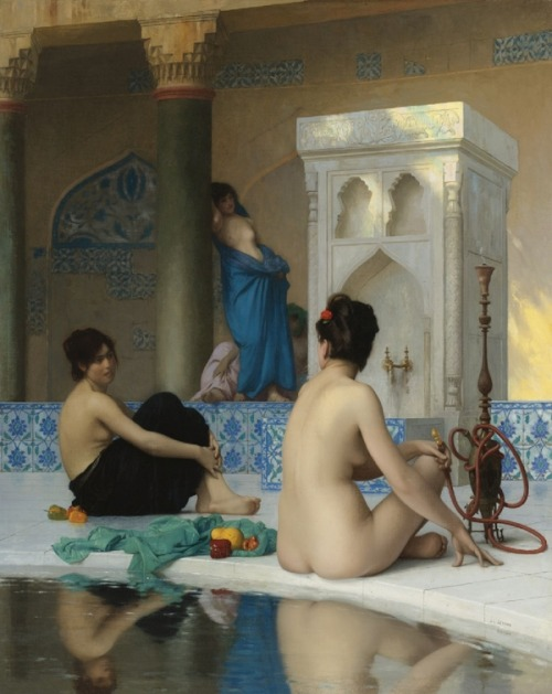 wasbella102:  After the Bath: Jean-Léon Gérôme