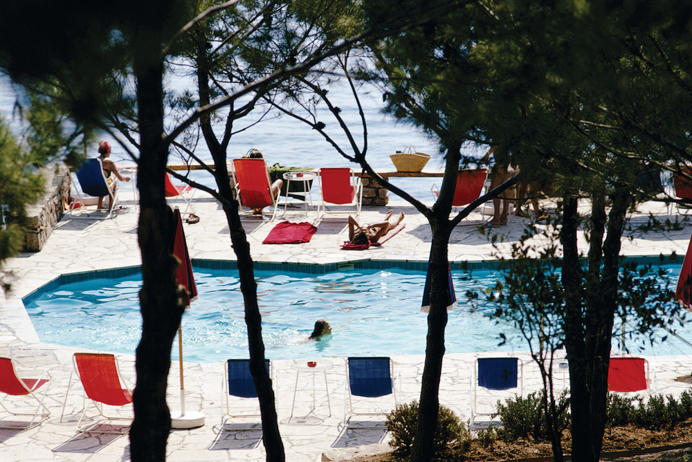 H is for Hotel Il Pellicano, one of Tory's favorite hotels in the world.