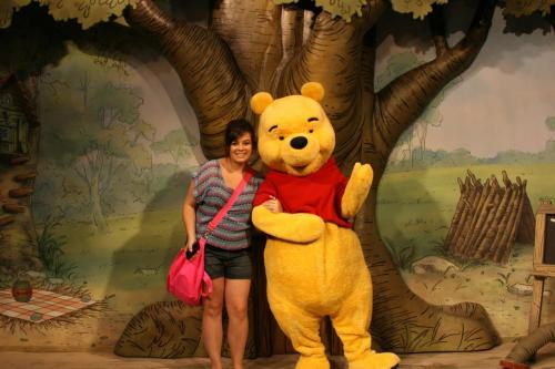 Who doesn't want a picture with Winnie the Pooh! (: