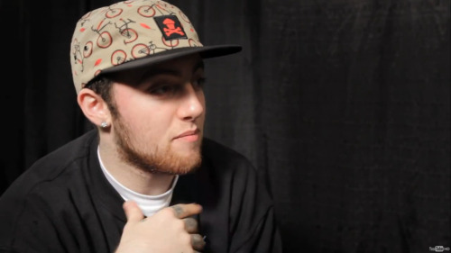 Here is a screenshot of Mac Miller wearing our Bike 5 panel during an interview for Complex Music. Check out the video here!