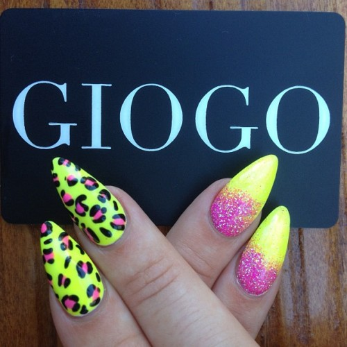Beach Party GIOGO nails by @sarahbland #Nailway (Taken with Instagram)