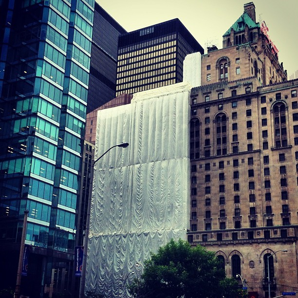 #toronto #architecture #covered (Taken with Instagram)
