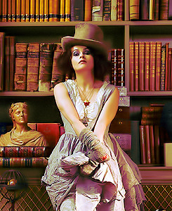 klausible:  people that inspire me on a daily basis • helena bonham carter  I've aged, but I don't think I've grown up.